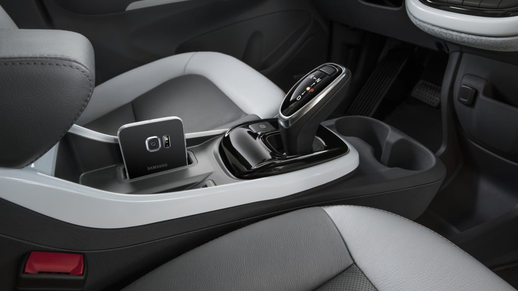 2017 Chevy Bolt interior center console