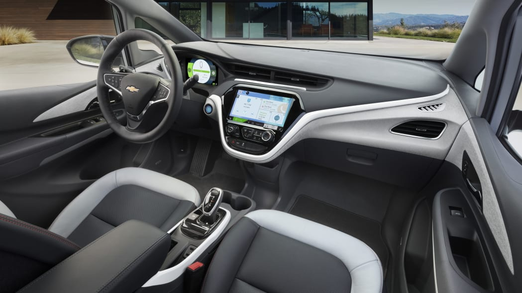 2017 Chevy Bolt interior