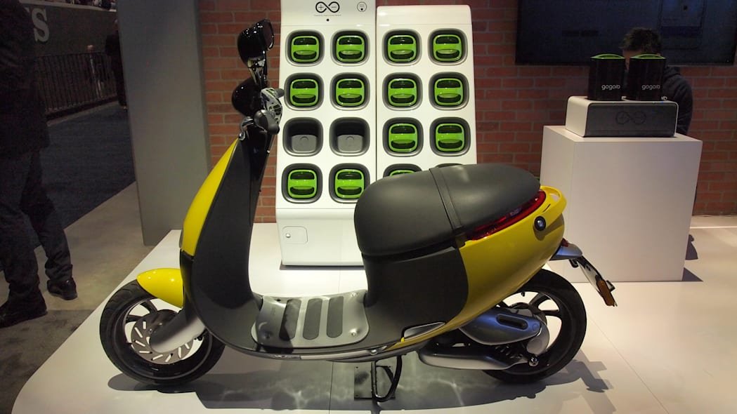 Panasonic Gogoro Electric Scooter at CES 2016.