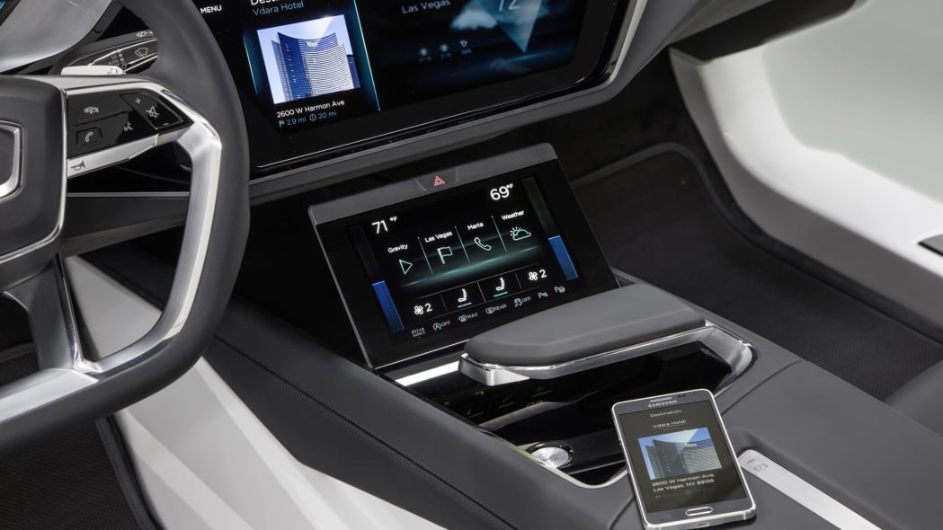 Audi Virtual Dashboard center console