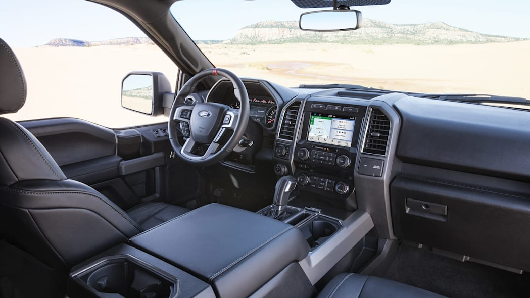 2017 Ford F-150 SVT Raptor SuperCrew interior