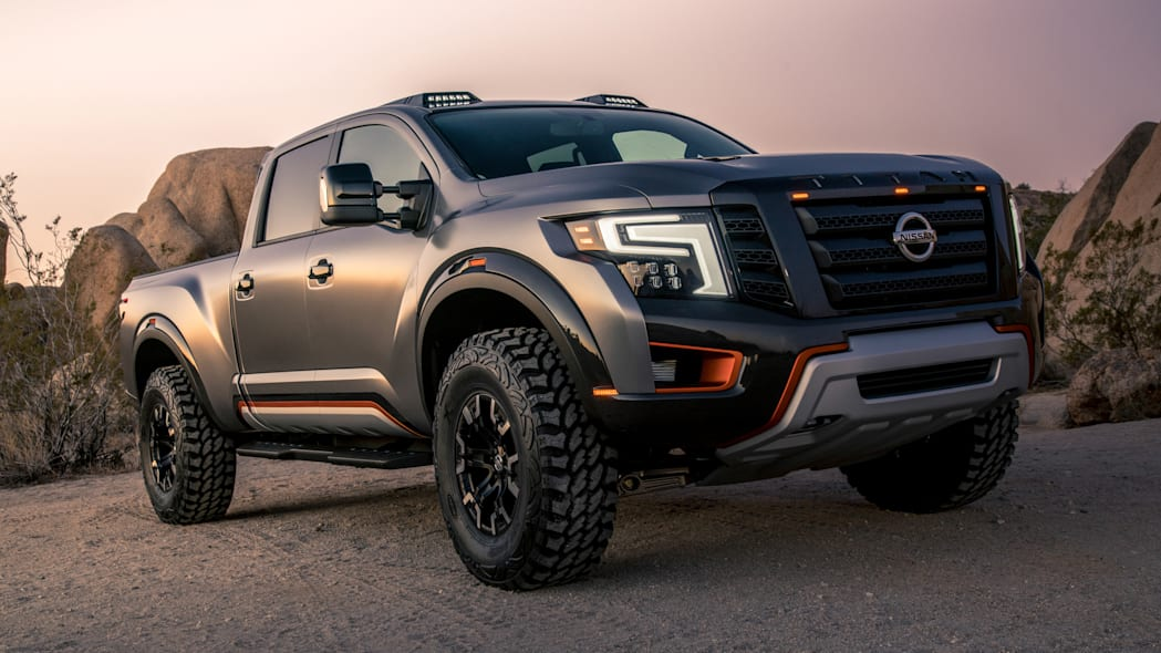 Nissan Titan Warrior concept front right