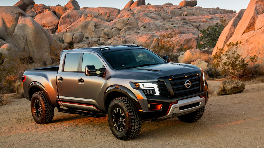 Nissan Titan Warrior concept front right close