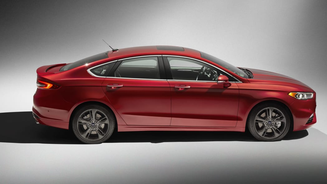 2017 Ford Fusion Sport side