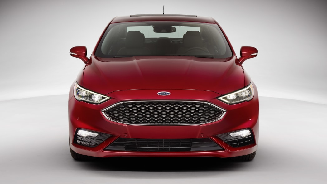 2017 Ford Fusion Sport grille