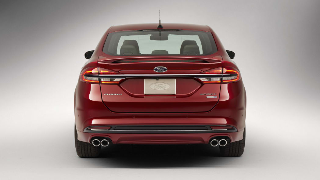 2017 Ford Fusion Sport back