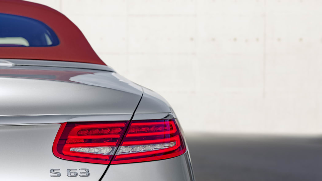 Mercedes-AMG S63 4Matic Cabriolet Edition 130 rear detail