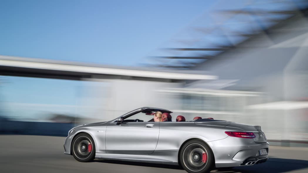 Mercedes-AMG S63 Cabriolet Edition 130 moving