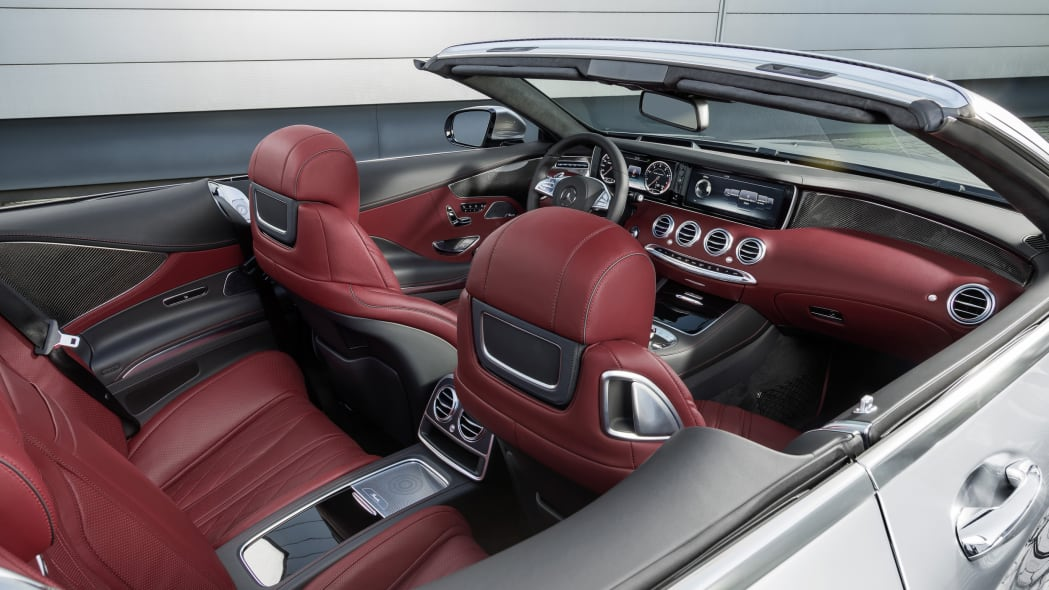 Mercedes-AMG S63 4Matic Cabriolet Edition 130 interior
