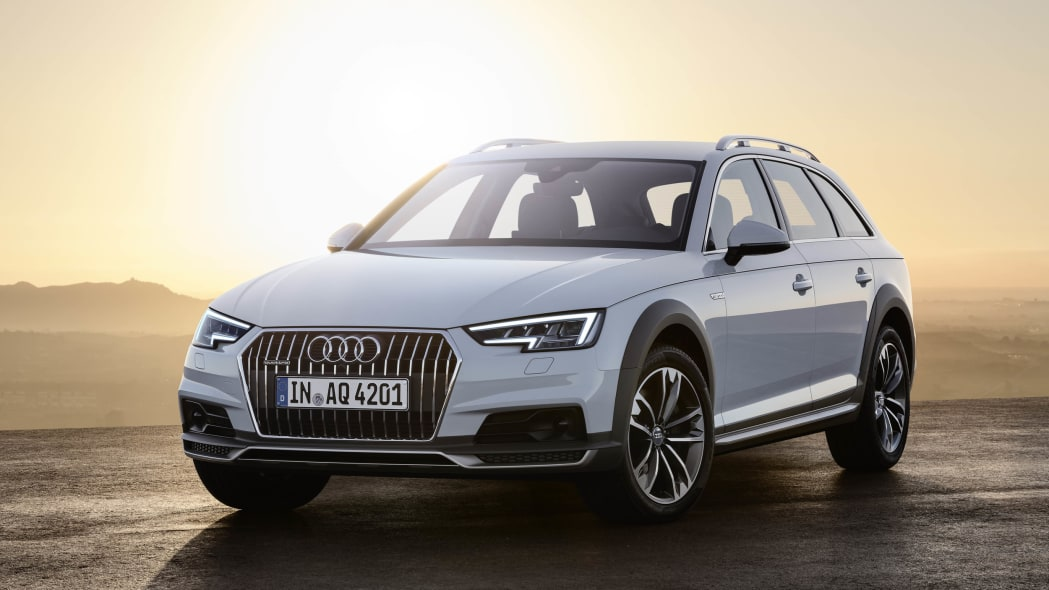 2017 Audi A4 Allroad Quattro front 3/4 static sunset