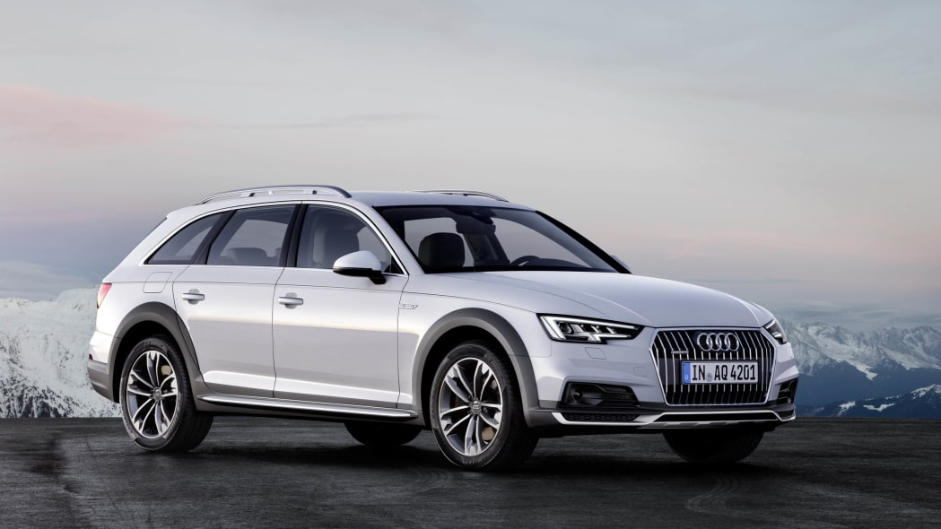 Audi A4 Allroad location front 3/4