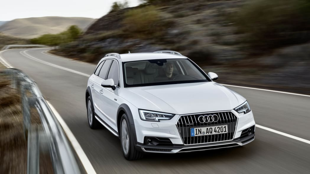 2017 Audi A4 Allroad front 3/4 moving