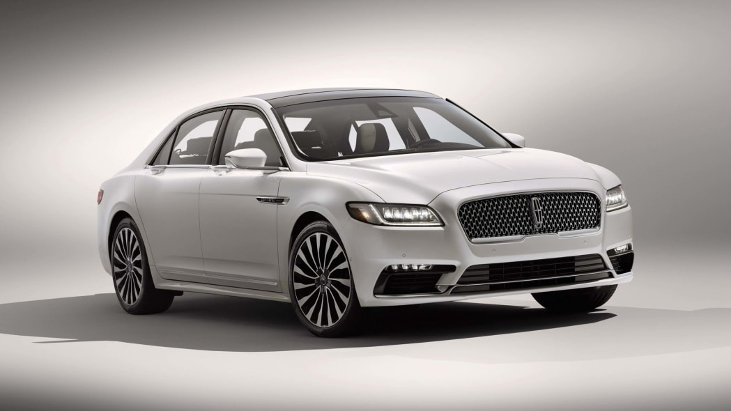 2017 lincoln continental front