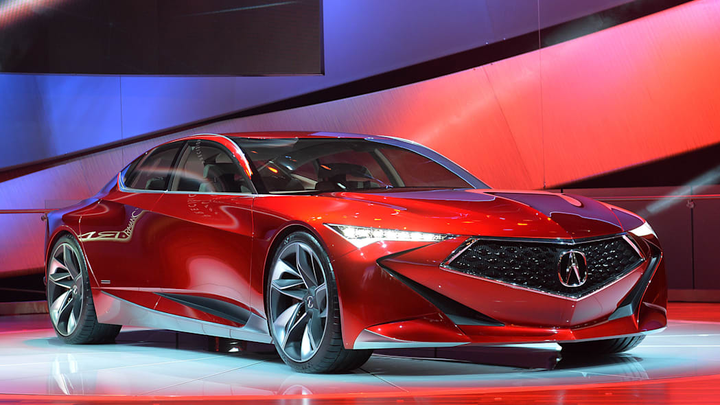 Innovative Use of Color, Graphics and Materials: Acura Precision Concept