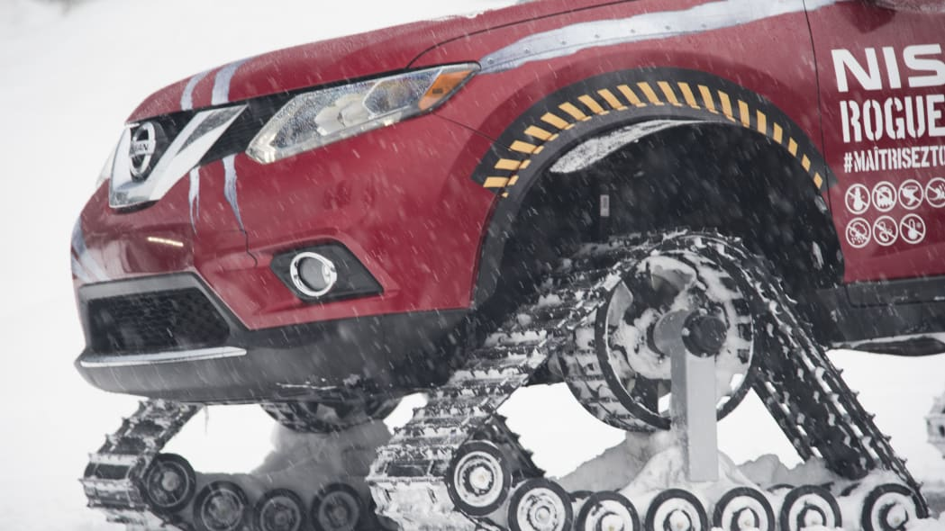 nissan rogue warrior profile track detail