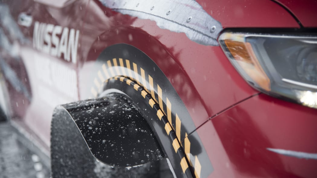 nissan rogue warrior profile front detail