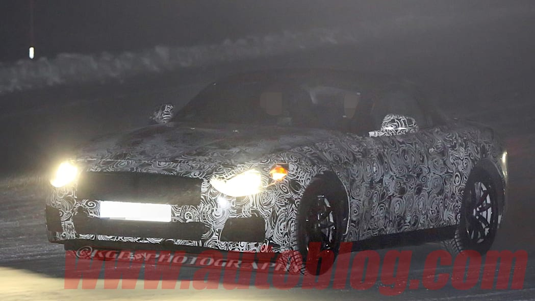 BMW Z4 replacement spy shot front