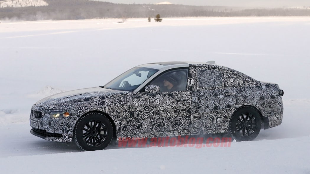 bmw 3 series camouflage profile