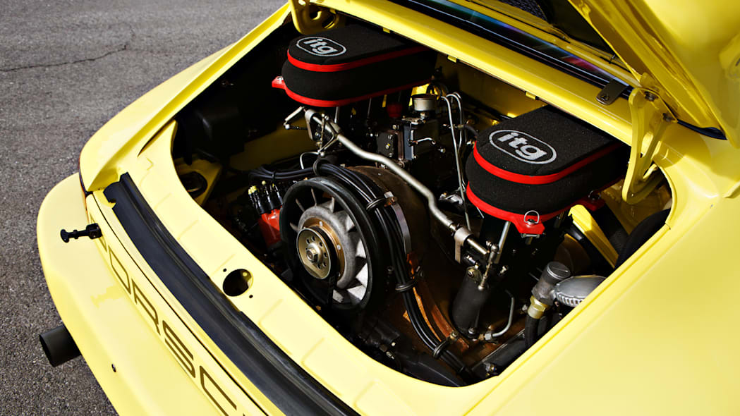1974 Porsche 911 Carrera 3.0 IROC RSR engine