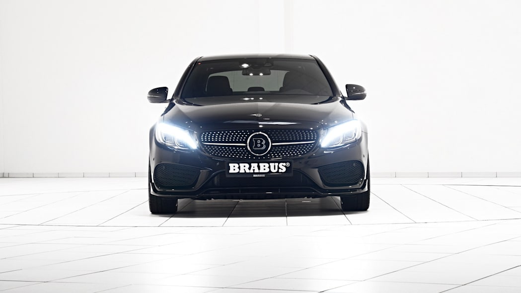 Mercedes-Benz C450 AMG Sport by Brabus front lights