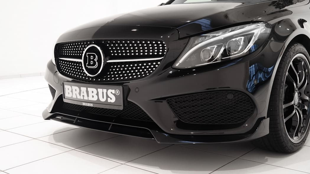 Mercedes-Benz C450 AMG Sport by Brabus grille