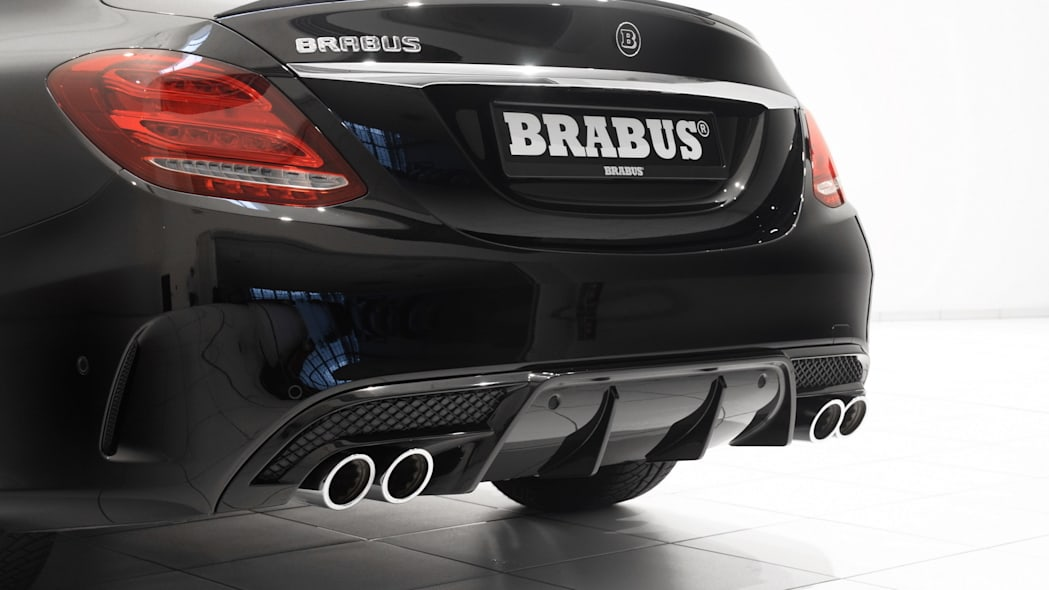 Mercedes-Benz C450 AMG Sport by Brabus diffuser