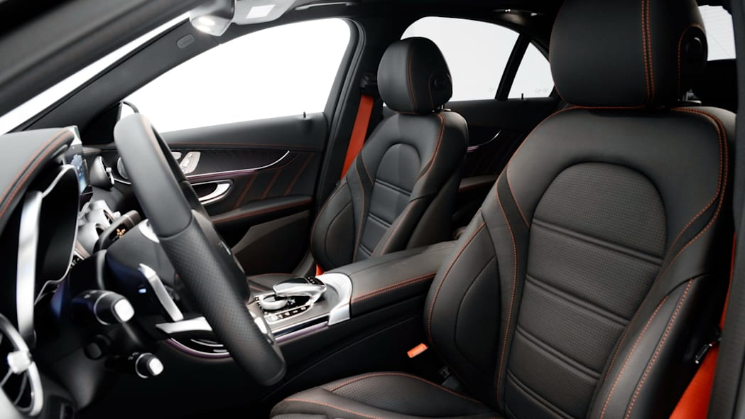 Mercedes-Benz C450 AMG Sport by Brabus interior front seats