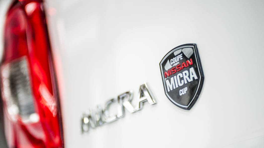 Nissan Micra Cup Limited Edition badge