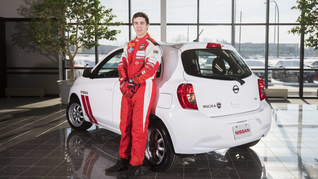 Nissan Micra Cup Limited Edition rear 3/4
