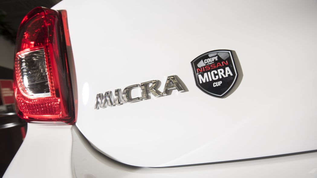 Nissan Micra Cup Limited Edition rear