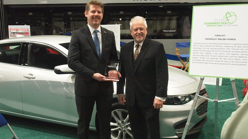 2016 Connected Green Car of the Year: Chevy Malibu Hybrid