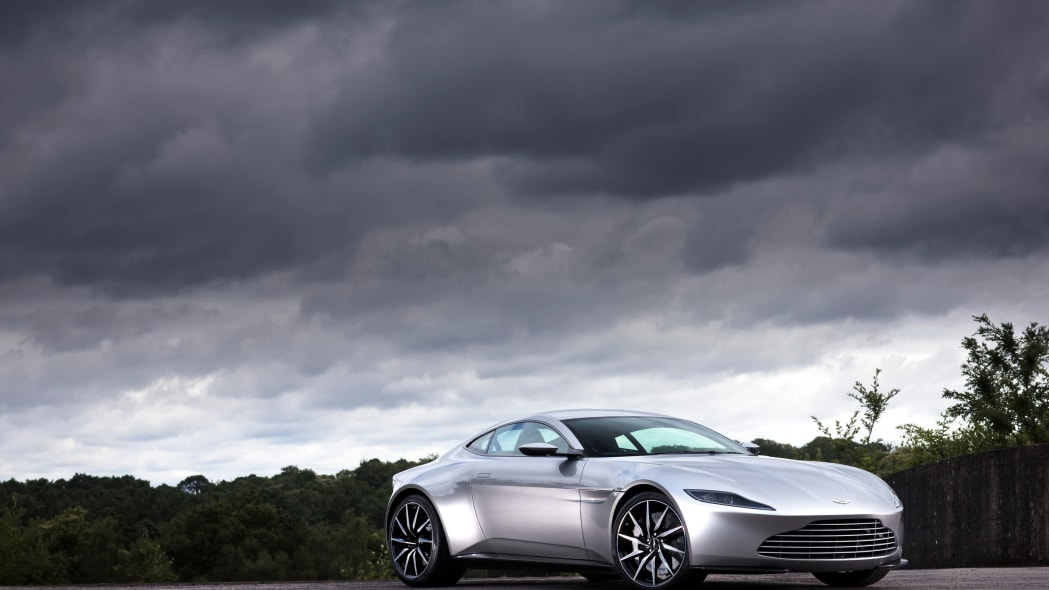 aston martin db10 three quarters