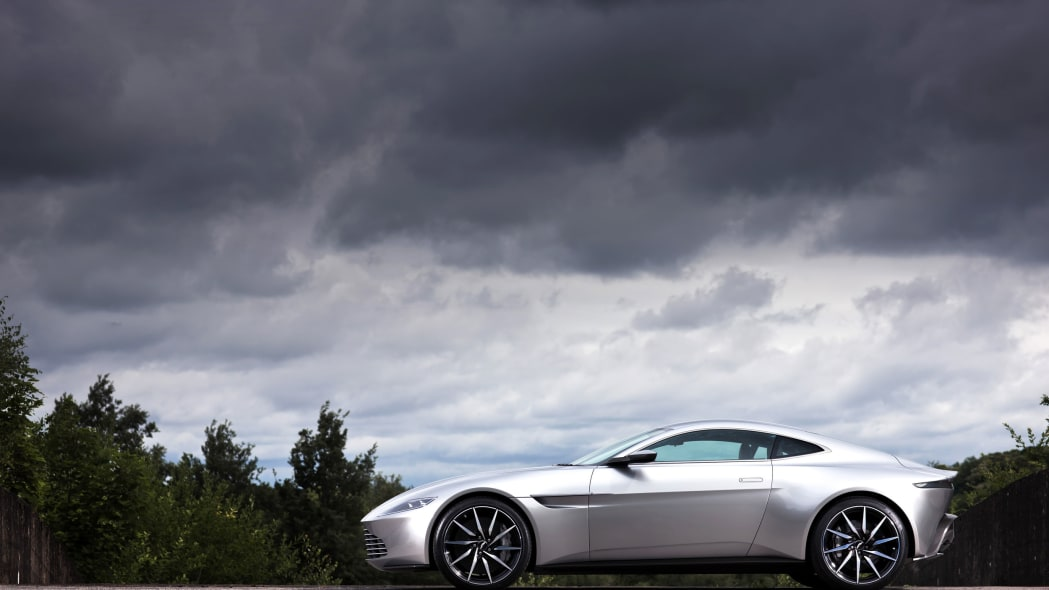 aston martin db10 profile