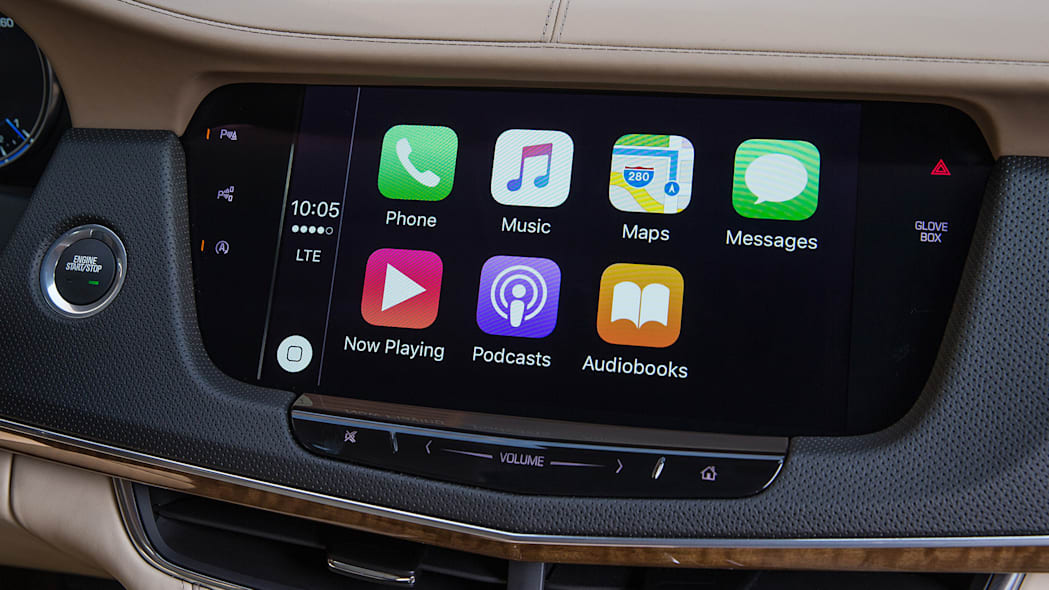 2016 Cadillac CT6 infotainment system