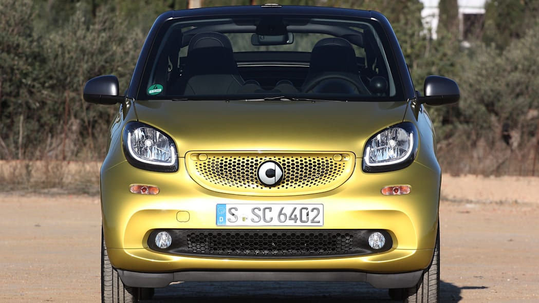 2017 Smart ForTwo Cabriolet front view