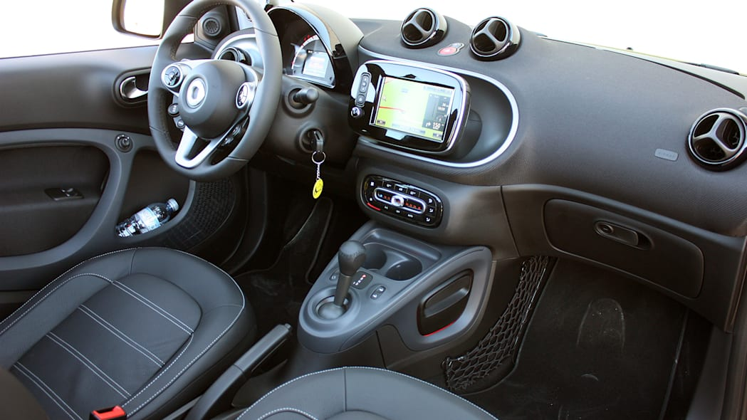 2017 Smart ForTwo Cabriolet interior