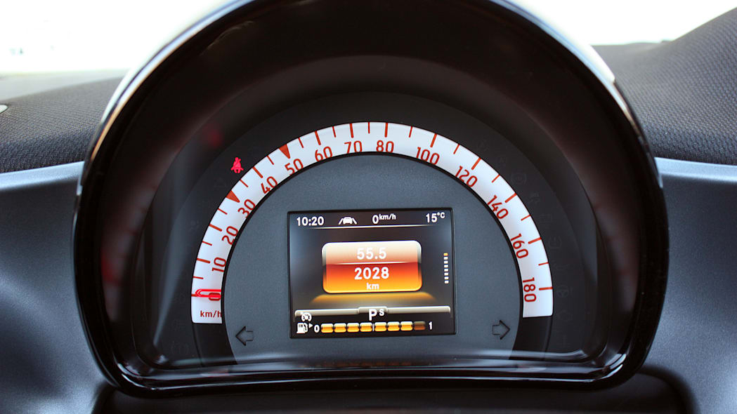 2017 Smart ForTwo Cabriolet gauges