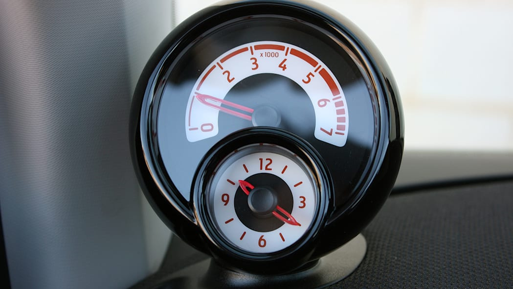 2017 Smart ForTwo Cabriolet auxiliary gauges