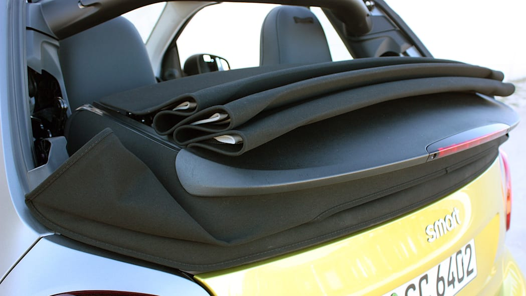 2017 Smart ForTwo Cabriolet roof