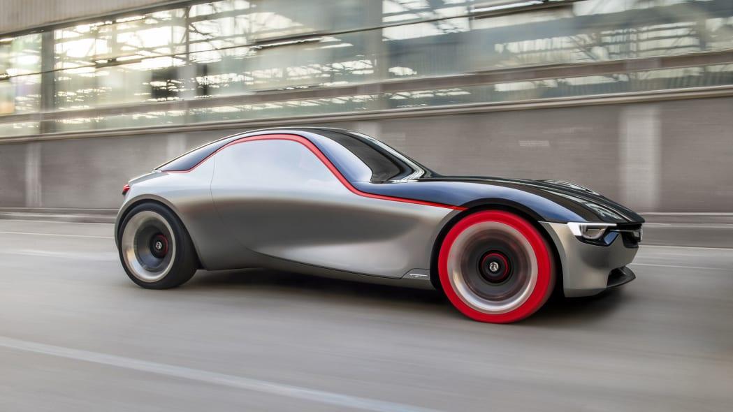 vauxhall gt concept profile road