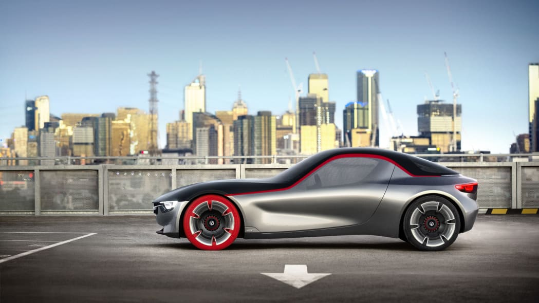 vauxhall gt concept side static