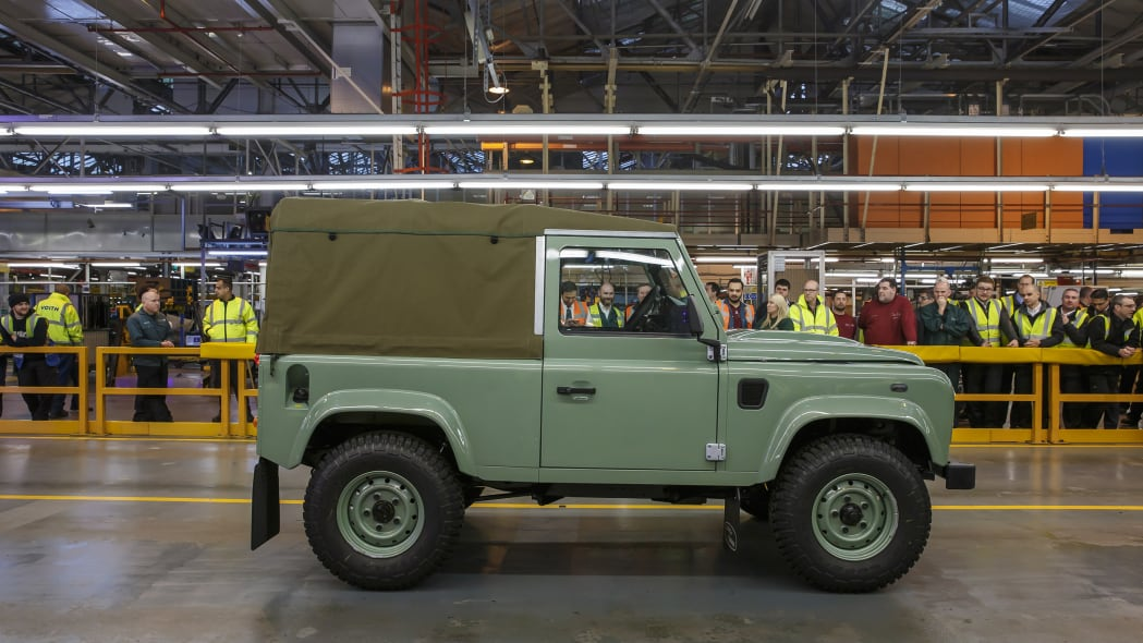 land rover defender 90 heritage soft top profile