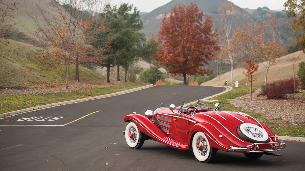 1937 Mercedes-Benz 540K Special Roadster rear 3/4