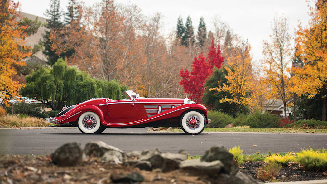 1937 Mercedes-Benz 540K Special Roadster profile static
