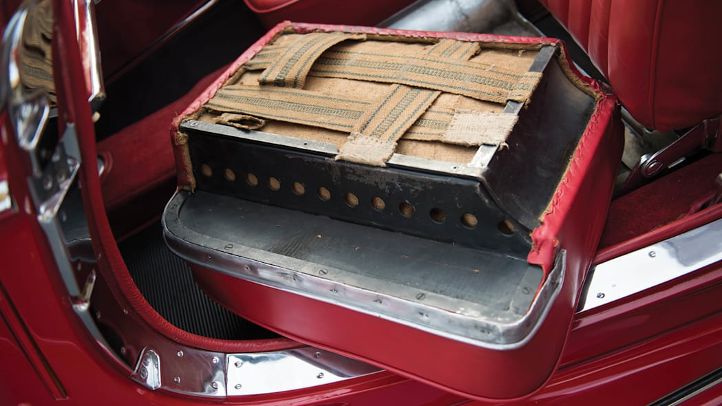 1937 Mercedes-Benz 540K Special Roadster seat cushion
