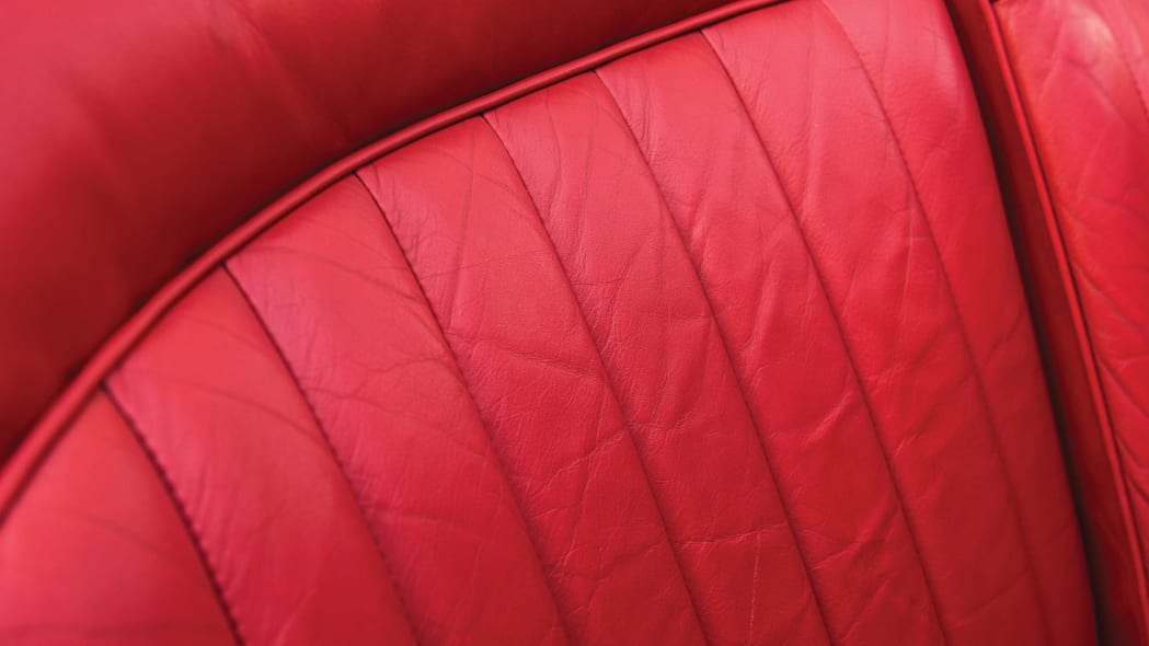 1937 Mercedes-Benz 540K Special Roadster seat upholstery