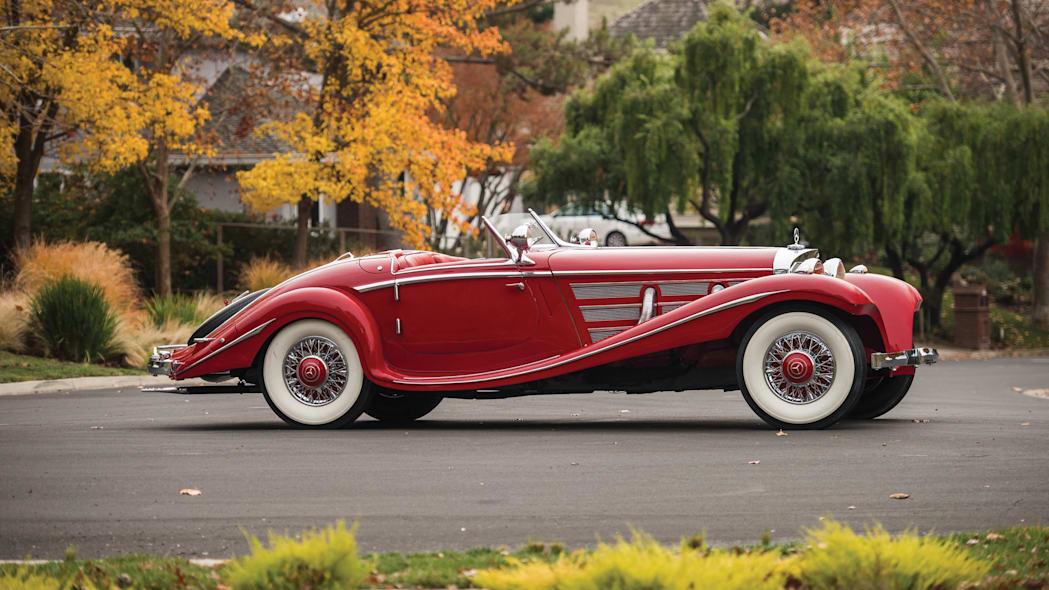 1937 Mercedes-Benz 540K Special Roadster static profile