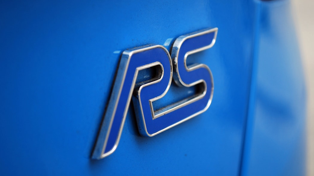 2016 Ford Focus RS badge
