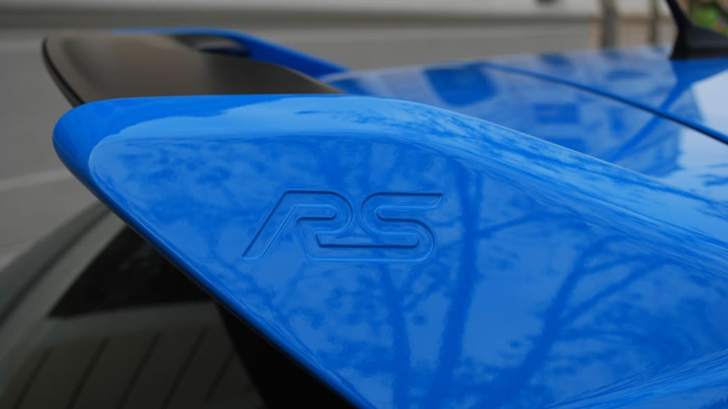 2016 Ford Focus RS rear spoiler
