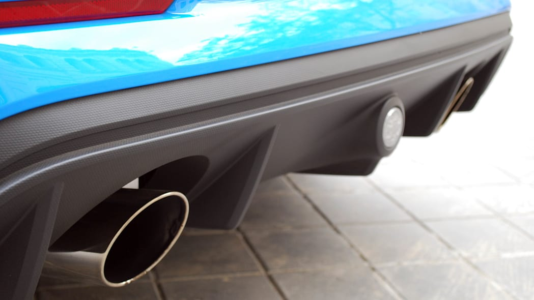 2016 Ford Focus RS rear diffuser